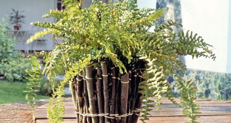 Vasi di legno impariamo a rivestirli for Vasi di legno