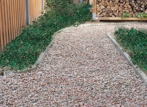 Come realizzare un vialetto in giardino con sottofondo e ghiaietto - Realizzare un giardino ...