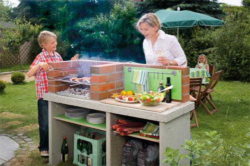 Barbecue fai da te in muratura e portatile - Arredo per giardino fai da te ...