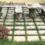 Come posare le piastrelle da giardino su letto di sabbia | Piastrelle da esterno posa