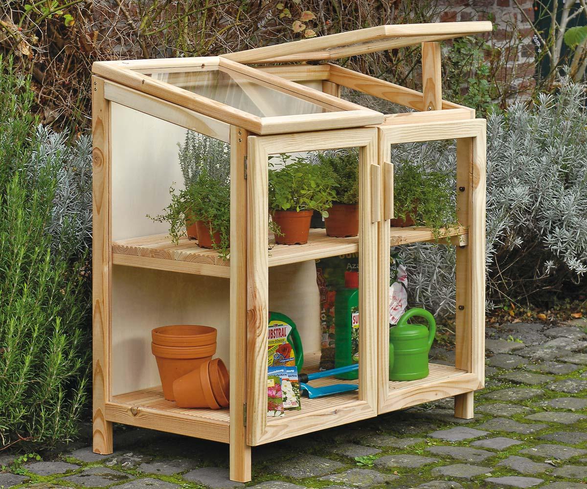 Come costruire una serra di legno for Decorazione giardino fai da te