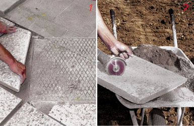 Come posare le piastrelle da giardino su sabbia guida for Mattonelle da muro