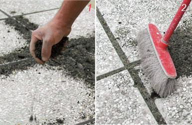 Piastrelle di cemento fai da te design casa creativa e - Posare piastrelle su pavimento esistente ...