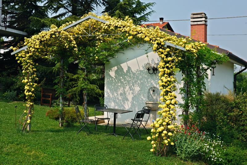 Giardino di campagna con orto e frutteto dove prima - Foto case con giardino ...