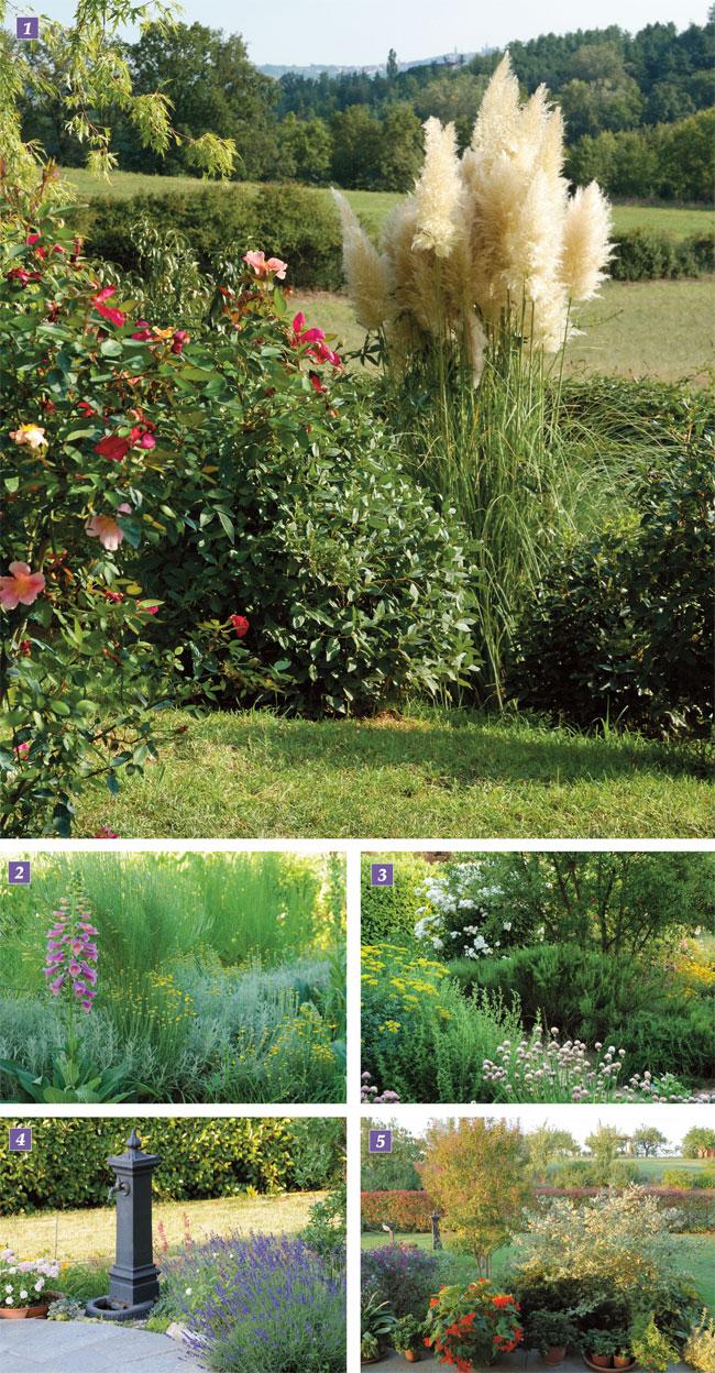 giardino in collina, giardino, renato luparia, nadia presotto