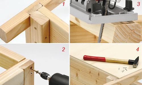 traverse serra di legno