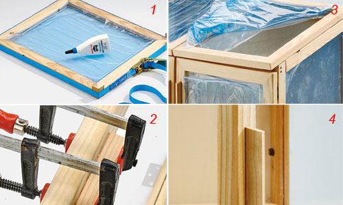 Come fare una serra in legno