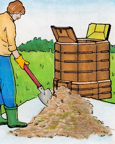 Compostiera ecologica fai da te in giardino for Attivatore fossa biologica fai da te