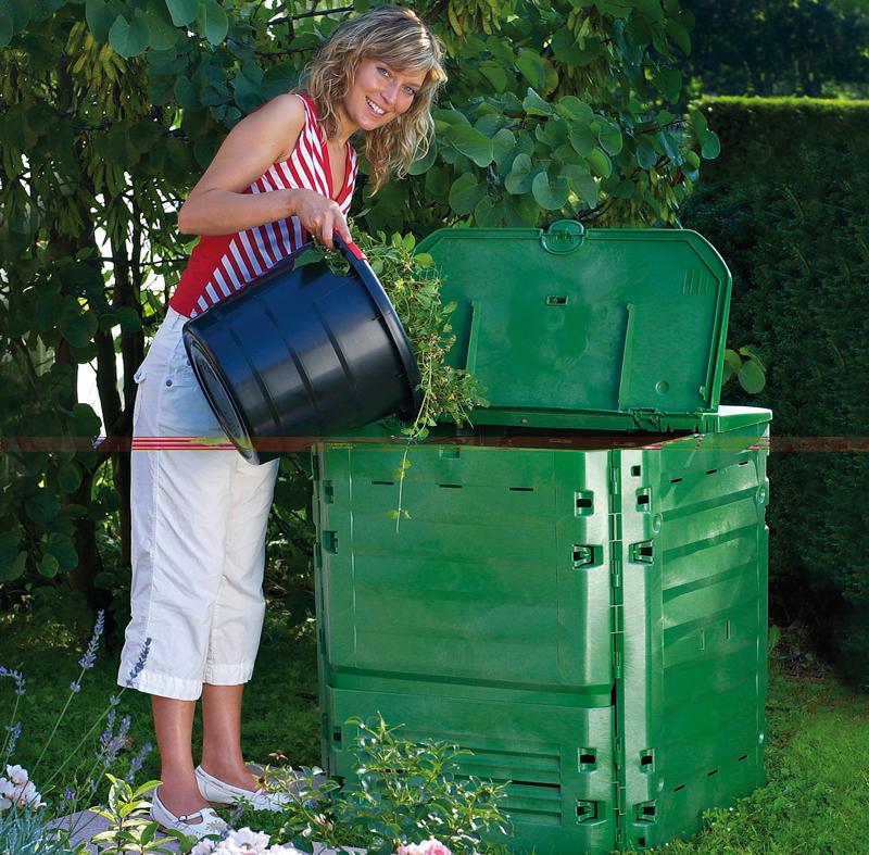 Compostiera ecologica fai da te in giardino for Costruire compostiera