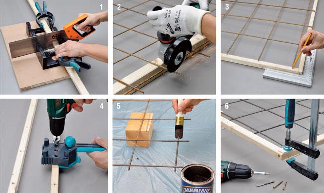 Costruire una fioriera con spalliera di legno for Fioriera con spalliera plastica