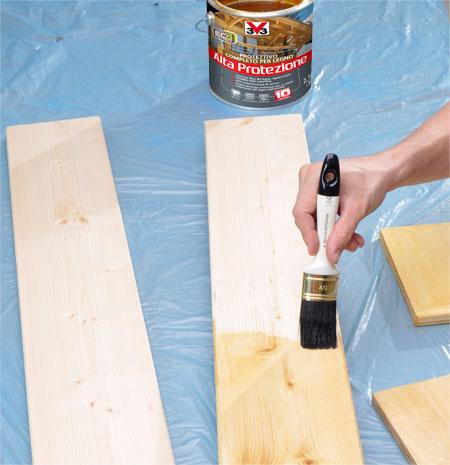 impregnare legno