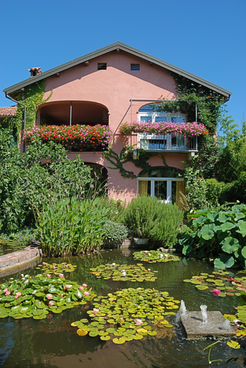 Giardino con laghetto splendore tra ninfee cascatelle e - Happy casa arredo giardino ...