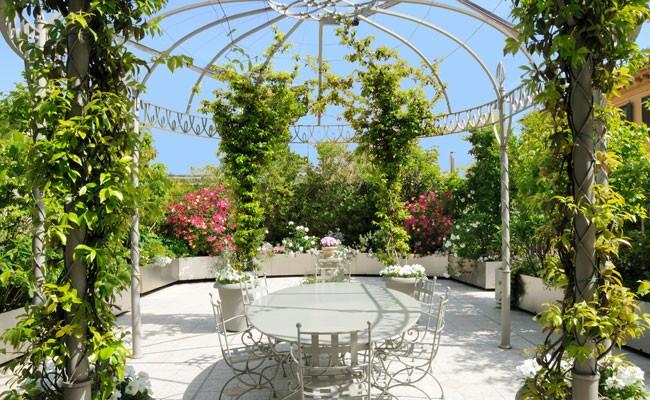 giardino pensile in città - fai da te in giardino - Portavasi Pensile Fai Da Te