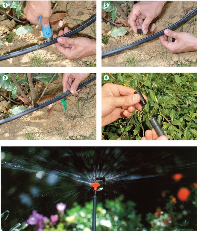 irrigazione a goccia, claber, irrigazione giardino, impianto irrigazione, irrigazione, impianto di irrigazione, irrigazione orto