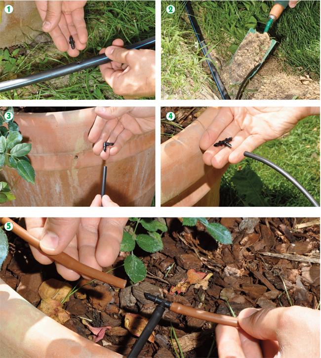 Irrigazione a goccia fai da te in giardino for Gocciolatori per irrigazione a goccia