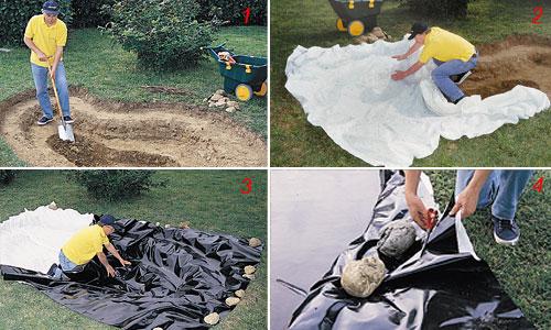 Come installare un laghetto da soli scegliere posizione e for Immagini di laghetti artificiali