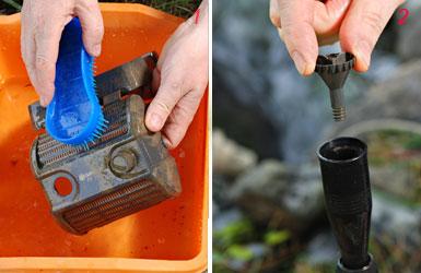 foto di manutenzione pompa