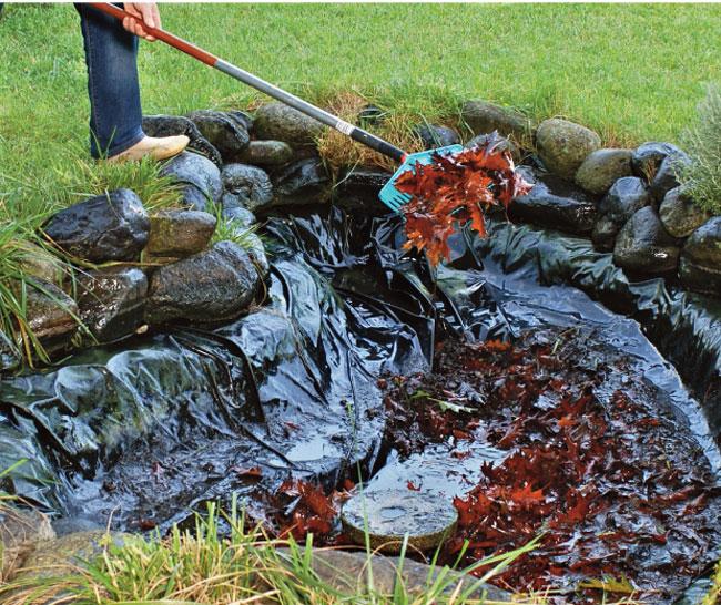 Manutenzione laghetto artificiale fai da te in giardino for Laghetti ornamentali da giardino