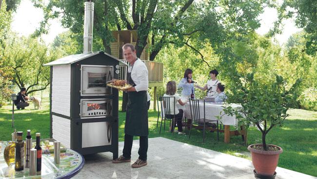 Cucinare all'aria aperta