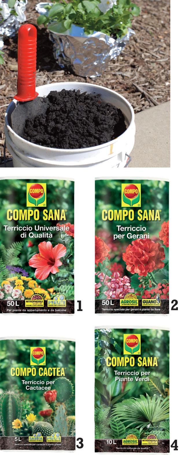 Terriccio Per Piante : Il corretto terriccio per piante fai da te in giardino