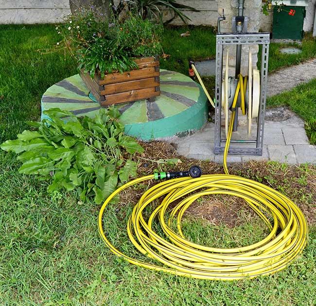 Avvolgitubo fai da te per acqua fai da te in giardino for Collegamento del tubo di rame al pvc
