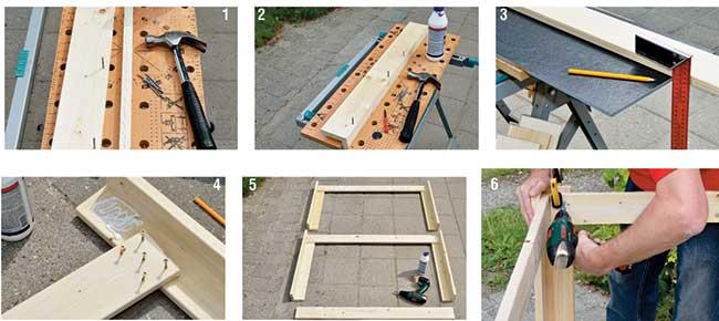 come costruire un tavolo