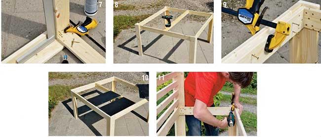 tavolo giardino legno fai da te ~ ulicam.net = varie forme di ... - Fai Da Te Mobili Da Giardino Esterno