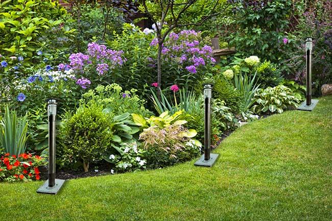 Punti luce da giardino: globi in vaso - Fai da te in giardino