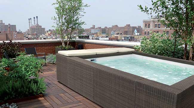 Playa la minipiscina idromassaggio di piscine laghetto - Piscina laghetto playa prezzo ...
