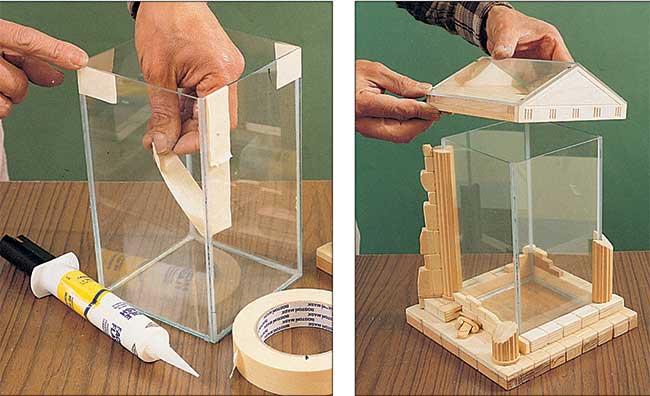 serra di vetro