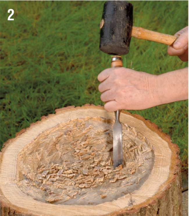 vaso fai da te in legno