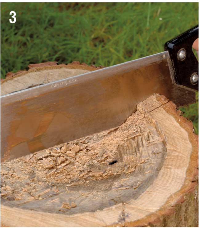 sega a mano per legno