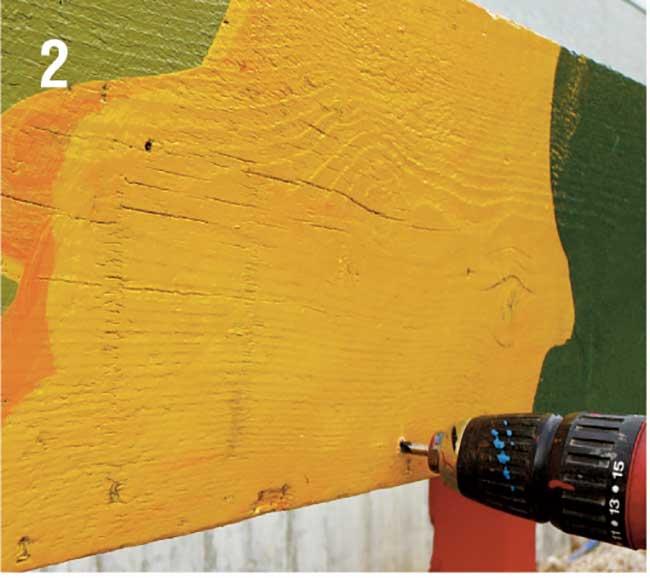 applicazione viti autofilettanti per legno