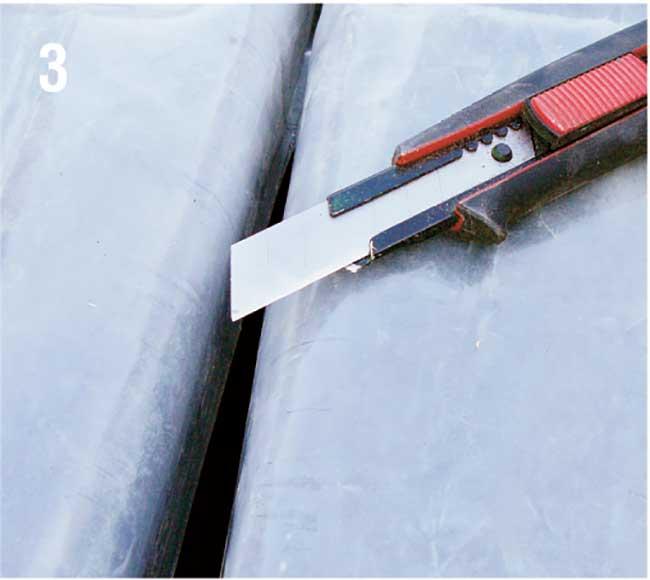 taglio nylon con cutter