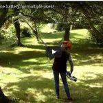 Batteria multiuso per il giardino | Presentazione video batteria 48 V Alpina