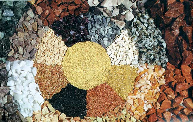pietre per giardino roccioso