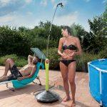 Doccia solare da giardino Sunny Style GF | Acqua calda con il sole!