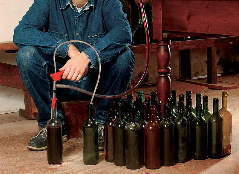 imbottigliamento vino