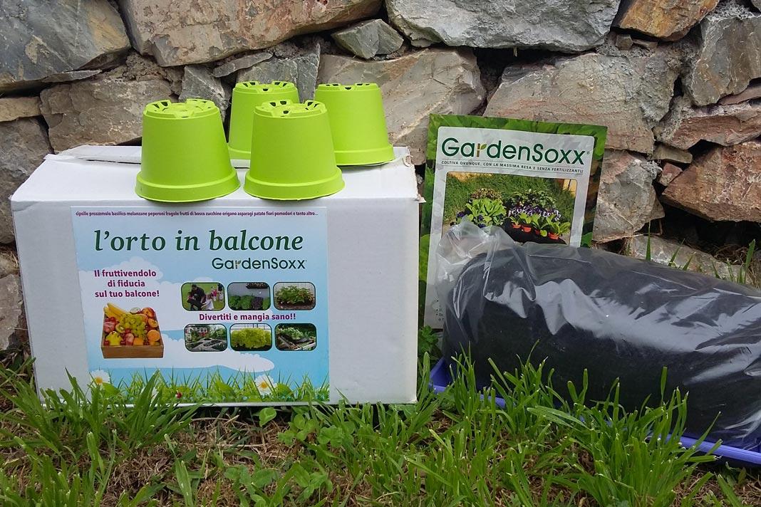 Orto in kit sul terrazzo Gardensoxx - Fai da te in giardino