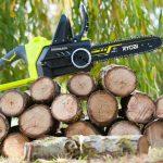 Elettrosega Ryobi 18V | Come tagliare la legna velocemente