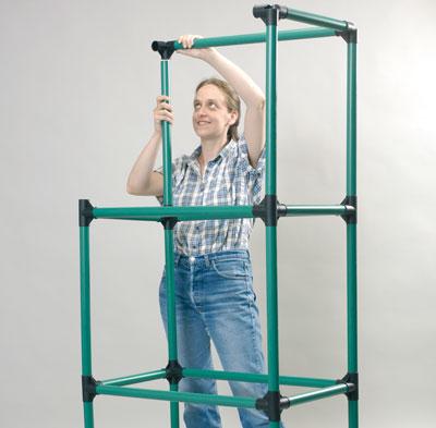 serra da balcone in plastica