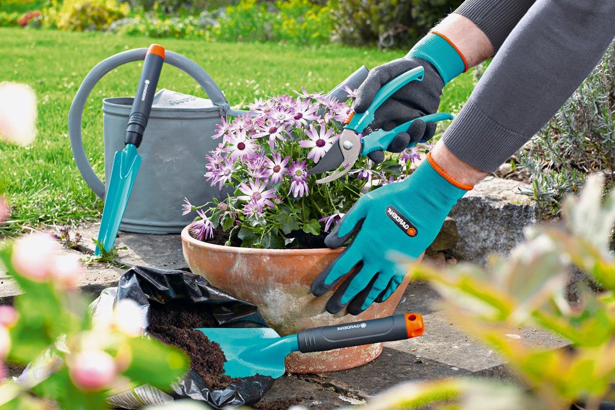 guanti da giardinaggio