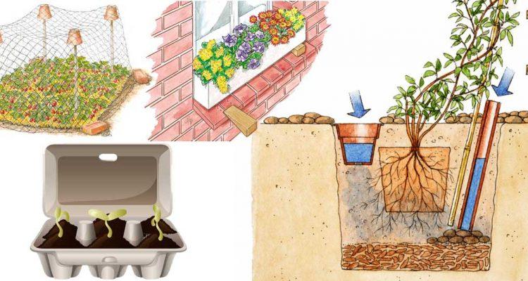 10 idee giardino fai da te trucchi per il giardinaggio fai da te in giardino - Idee per ristrutturare casa fai da te ...