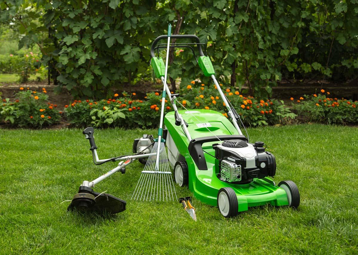 macchine da giardino