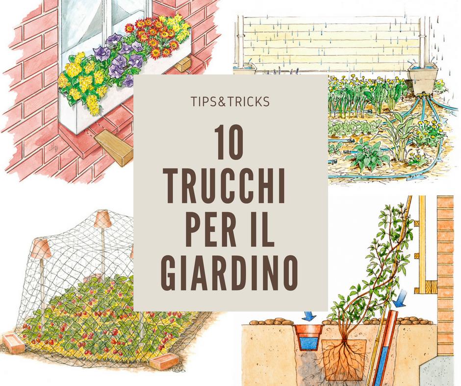 10 idee giardino fai da te trucchi per il giardinaggio for Soluzioni per giardino