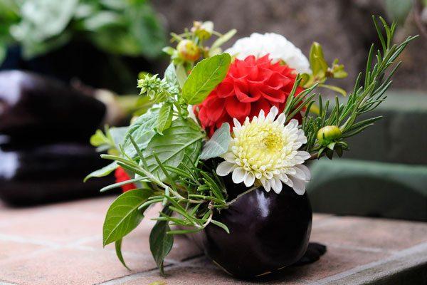 piatti fioriti