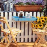 Tavolino da ringhiera | Come progettarlo fai da te