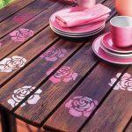 Maquillage | Decoriamo il nostro tavolo da giardino