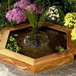 Fontana da giardino | Ecco come realizzarla in legno fai da te