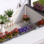 Irrigazione sul terrazzo